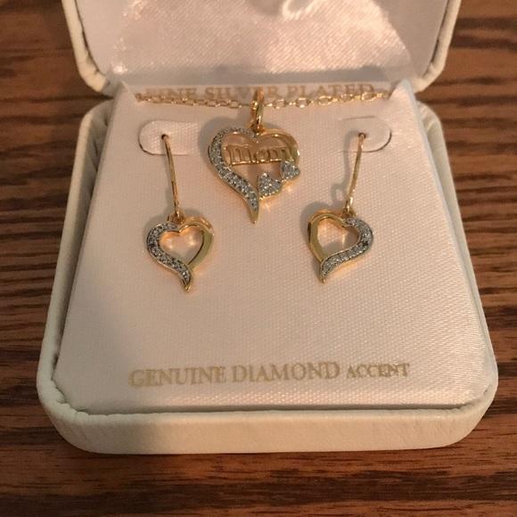 399a648ff Kay Jewelers Jewelry | Mom Necklace And Earrings Set | Poshmark